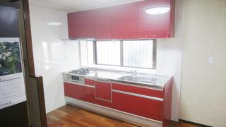 I型システムキッチン