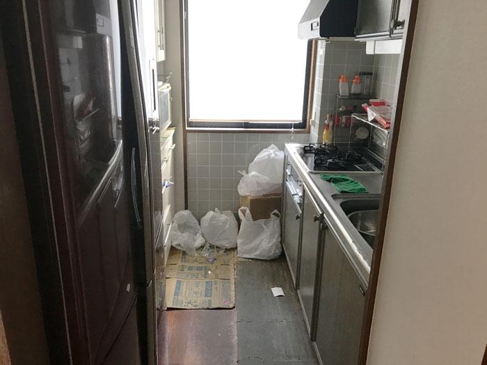 キッチン取替え前