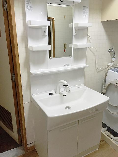 ノーリツの洗面化粧台
