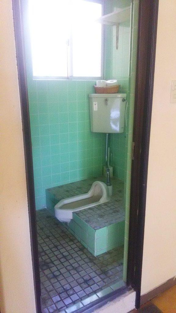 従来のトイレ
