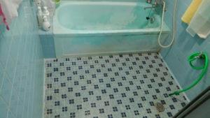 タイル張りお風呂のリフォーム